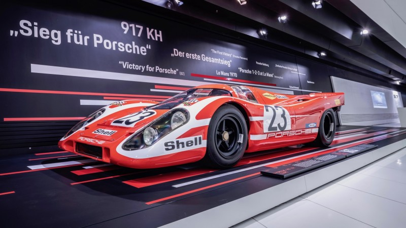 800 1066967 917 kh special exhibition 50 years of the porsche 917 colours of speed porsche museum 2019 porsche ag 357673