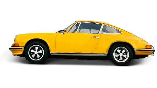 high signal yellow 911 s 2 7 coupeacute prototype 1972 2018 porsche ag