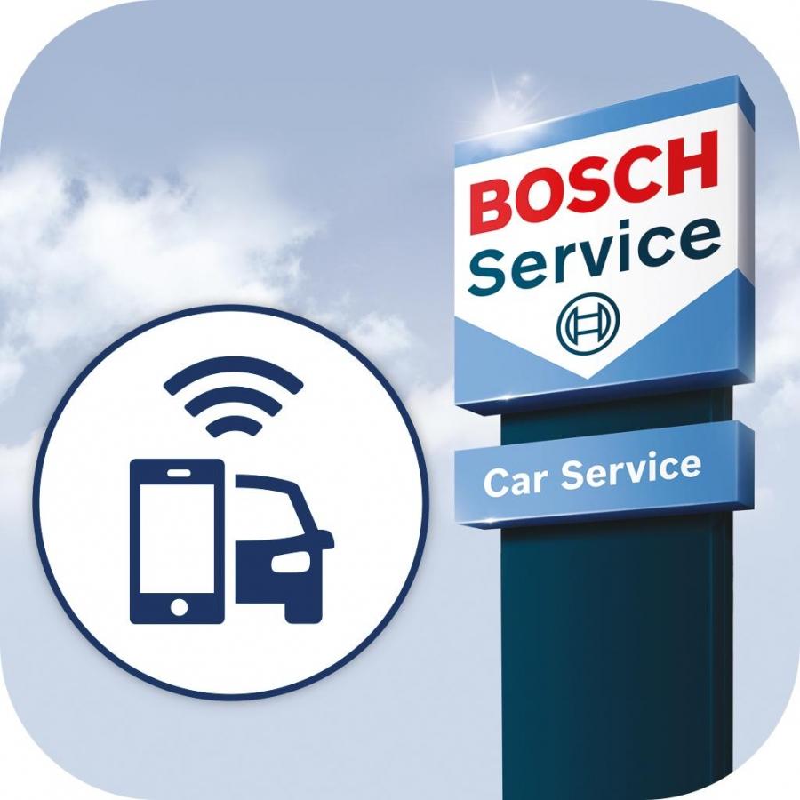 bosch car service lanceert bosch connector met bijbehorende bosch car service connect app. Black Bedroom Furniture Sets. Home Design Ideas
