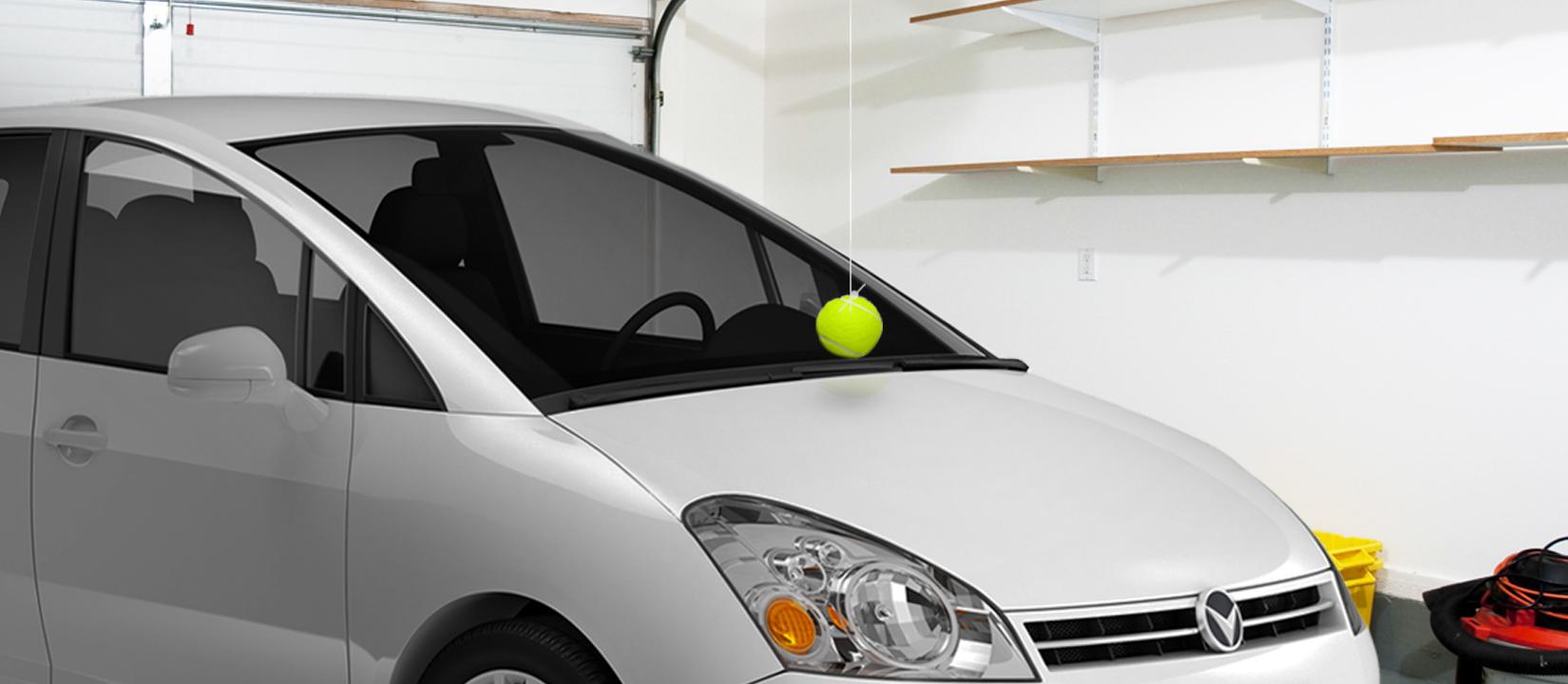 Handig met een tennisbal!