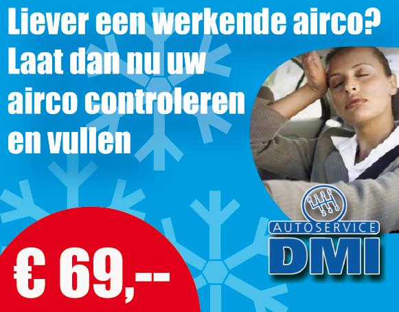 Airco controle en vullen